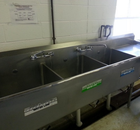 3 Bay Sanitizing Station